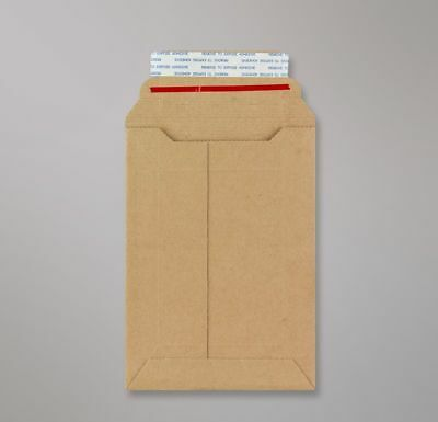 100 x Rigid Envelopes Cardboard Royal Mail PIP Large Letter Mailers 185 x 125mm
