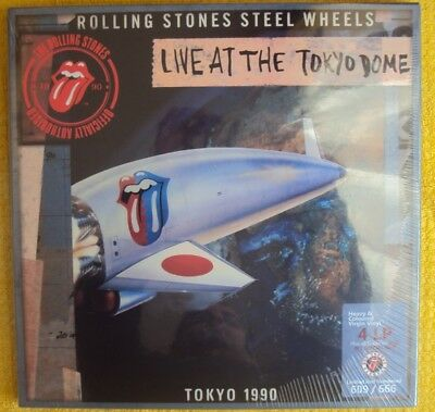 Rolling Stones  Live At Tokyo Dome 1990   4 LP s+ 2 CD s + 1 DVD Box set Limited