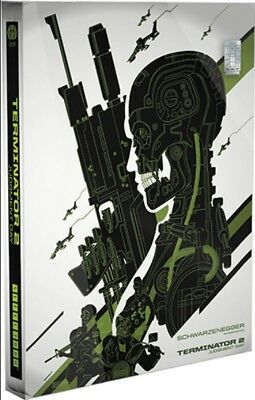 Terminator 2 - Limited Variant Edition Mondo Steelbook [Blu-ray] New and Sealed!