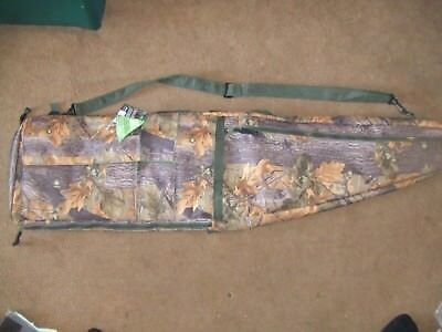 Camouflage Tactical Army Sniper Style Rifle Case Air Gun Shooting Drag Bag