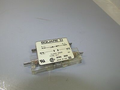 Square D Auxiliary Contact, Type D11, 1no 1nc, class 9999,    NOS