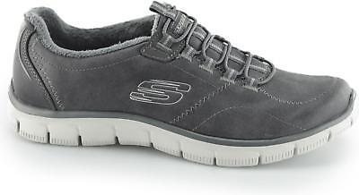 SKECHERS RELAXED FIT EMPIRE LATEST NEWS Ladies Comfort Faux