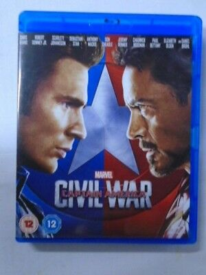 Captain America: Civil War (Blu Ray) NEW & unsealed, WB2