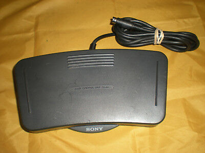 Sony FS-80 Foot Control Unit Pedal for M2000 M2020 Dictation Machine Transcriber