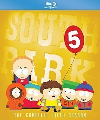 South Park: The Complete Fifth Season 5 (Blu-ray, 2017) BRAND NEW & SEALED!