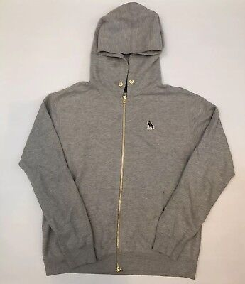 b4df327d685555 OCTOBERS VERY OWN Mid-Weight Zip-Up Hoodie-Gray size Large (Drake ...