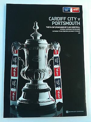 2008 FA Cup Final Cardiff City v Portsmouth MINT CONDITION CHEAPEST ON EBAY