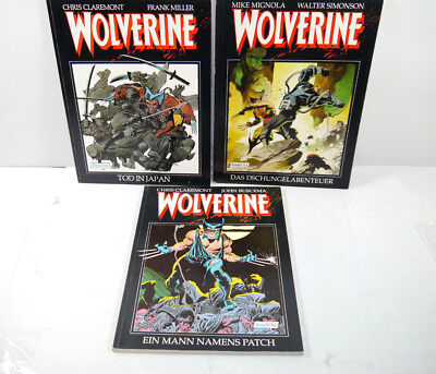 Wolverine Band 1 2 3 Comic Sc Feest USA Marvel Buscema, Claremont (MF4)