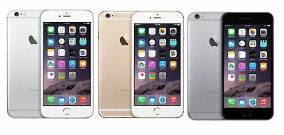Apple iPhone 6 Plus 16GB/ 64GB Gold/ Silver/ Gray Unlocked Smartphone y