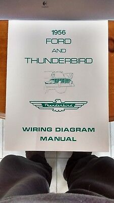 1956 FORD THUNDERBIRD Wiring Diagram Manual - $12.95   PicClick  Thunderbird Turn Signal Wiring Schematic on turn signal wire, turn signal capacitor, turn signal fuse, turn signal hood, turn signal relay, turn signal connectors, turn signal cruise control, harley turn signal schematic, turn signals chrome glow, simple turn signal schematic, turn up txt, turn signal switch schematic, turn signals for rhino, signal generator schematic, turn signal troubleshooting, turn signal timer, turn signal repair, turn signals wiring in old cars, signal flasher schematic, 1991 ford explorer schematic,