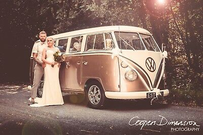 VW Camper Wedding Car Hire Chauffeur Driven Leicestershire Derbyshire Notts