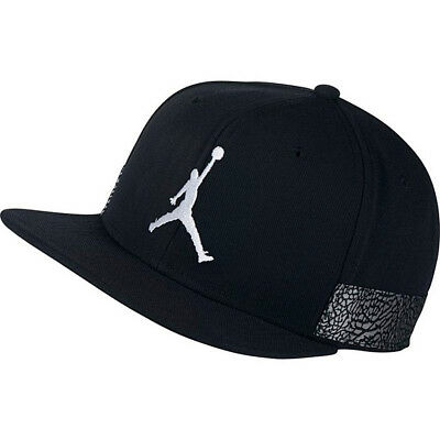 JORDAN Jumpman Pro AJ 3 AJ3 Snapback Hat Cap NBA Retro 3 Nike Air Flight - 866a59284