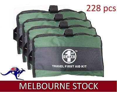 228 Pieces First Aid Kit-A Must Have for Every Family ARTG Registered