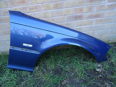 BMW 3 SERIES E46 1999-2003 PRE-FACELIFT RIGHT DRIVER SIDE FRONT WING TOPAZ  BLUE