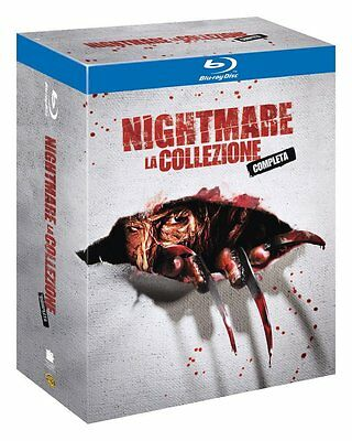 Nightmare Collezione Completa 7 film (4 Blu-ray) Cofanetto Collection