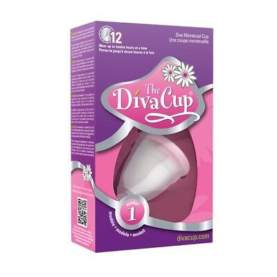 The Diva Cup Soft Silicone Menstrual Cup Reusable Leak Free Model 1 NEW STOCK