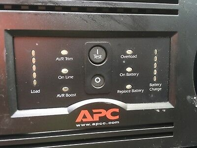 APC SUA3000RMXL3U Smart-UPS XL 3000VA 2.7kW RM 3U 120V (No Batteries) *TESTED*