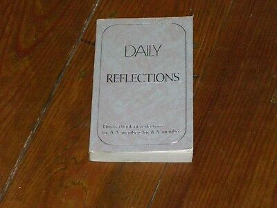 Alcoholics Anonymous Collectors!! 1990 2ND PRINTING OF A.A.'S DAILY REFLECTIONS