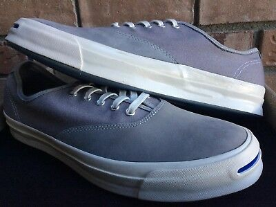 d189058e54bf Converse Jack Purcell JP Signature Ox men low top shoes size 12 gray 153593c