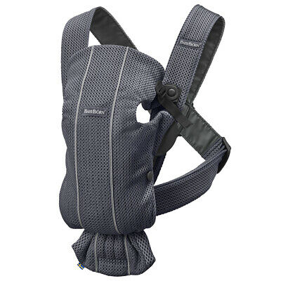 NEW BabyBjorn 3D  Mesh Mini Baby Carrier Anthracite