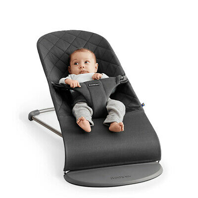 NEW BabyBjorn Bouncer Bliss Cotton Anthracite