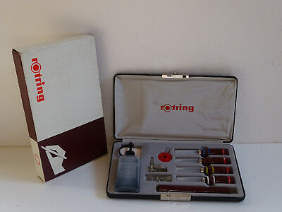 ------  ROTRING 70's ---- COLLEGE SET  ZEICHENKEGEL  MICRONORM ------- NIBS