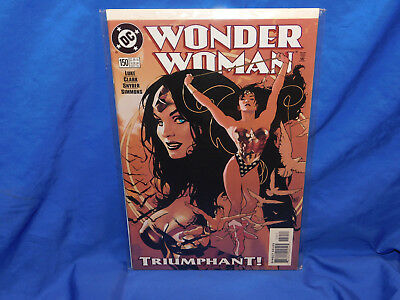 Wonder Woman #150 VF/NM 1999 DC Adam Hughes Cover Superman