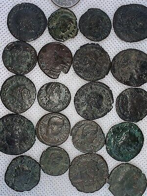 13MB Lot of 20pcs.Ancient Late Imperial Roman Coin