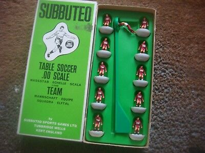 Boxed Subbuteo Football Heavyweight H W Team Middlesbrough  Ref 171