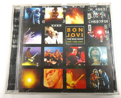 One Wild Night von Bon Jovi - 15 Tracks CD - 2001 - Island Def Jam Music