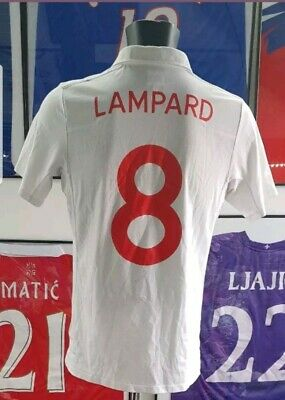 fcf49ffa6d Maillot jersey shirt maglia camisa chelsea 2010 lampard england Angleterre M