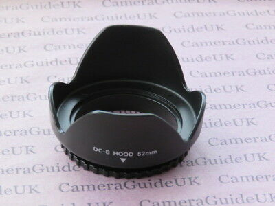 52mm Flower Screw Mount Lens Hood For Canon RF 35mm F1.8 IS STM Macro Lens
