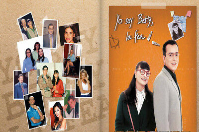 "Colombia,series,""yo Soy Betty La Fea"" 1999,  32 Dvd,169 Capitulos"