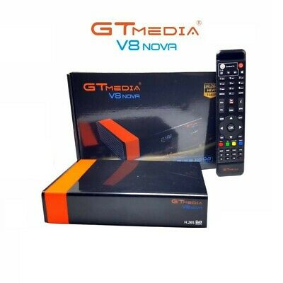 Sintonizador Tv Sat Gtmedia-Freesat V8 Nova Full Hd Wifi Incluido H265 Iptv