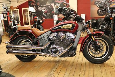 2019 Indian Scout Indian Red and Thunder Black Brand new in stock available now