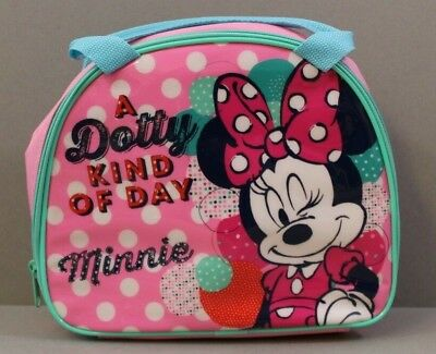 Minnie Mouse Lunch Bag School Picnics Travel Holidays Cute Fun Brand New Sweet