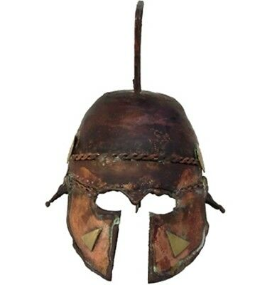 Ancient Helmet Macedonian Decorated Unique Piece Hand Made