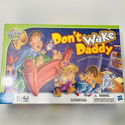 Don't Wake Daddy Game New Sealed Hasbro Family Board Game
