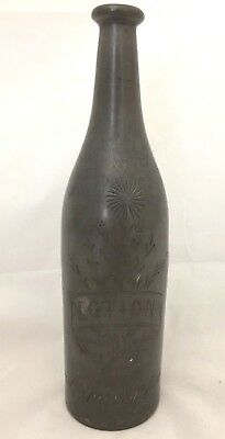 Kann Bros Silver Co Pewter Silver Bottle Etched Lotion House Of Representatives