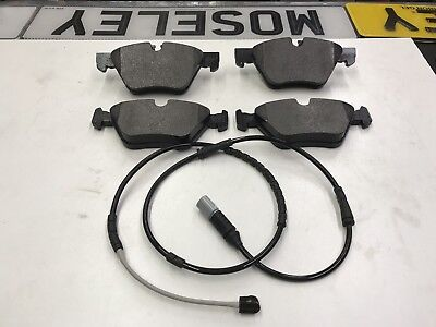 BMW F10 F11 REAR BRAKE PADS AND SENSORS 518 520D 2011 TO 2015 TOP QUALITY UK