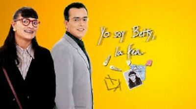 YO SOY BETTY LA FEA(32 DVDS)AÑO 1999,telenovela colombiana
