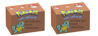 Pokemon Mystery Box Brand New Sealed Booster Packs -  Booster Box & Much More