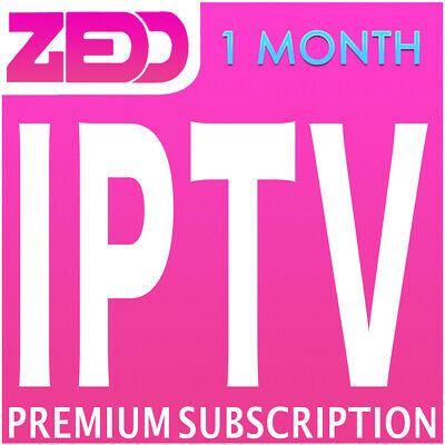 1 Month IPTV Subscription Arabic Indian Europe Greek UK USA Sport China Asia HD