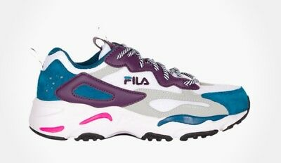 685626043 FILA RAY TRACER (W) White/Purple/Blue|FILA Heritage line|Women's Ray ...