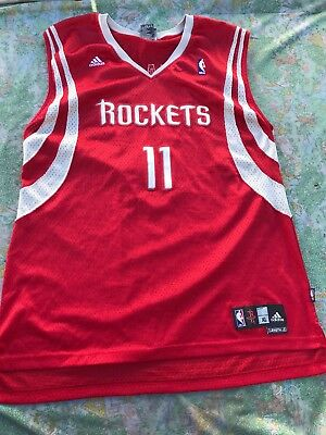 f706dc6fb Yao Ming  11 Houston Rockets NBA adidas Jersey XL Men s Sewn Pro Team  Edition