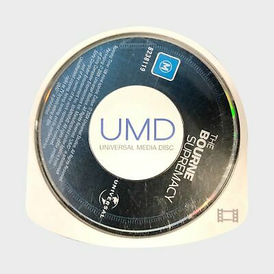 The Bourne Supremacy UMD Movie / PSP