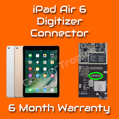 Apple iPad Air 6 Digitizer / Touch FPC Connector Repair Replacement Service