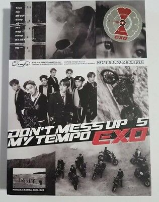 EXO The 5th Album DON'T MESS UP MY TEMPO, 2018
