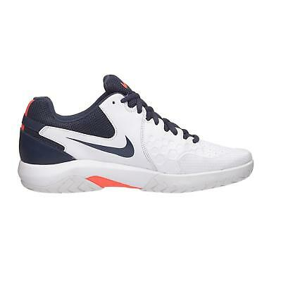 big sale 111a8 4d967 Mens NIKE AIR ZOOM RESISTANCE White Tennis Trainers 918194 148