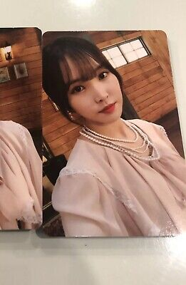 GFRIEND Time for Us Album LIMITED 1 Photocard Yuju Photocard
